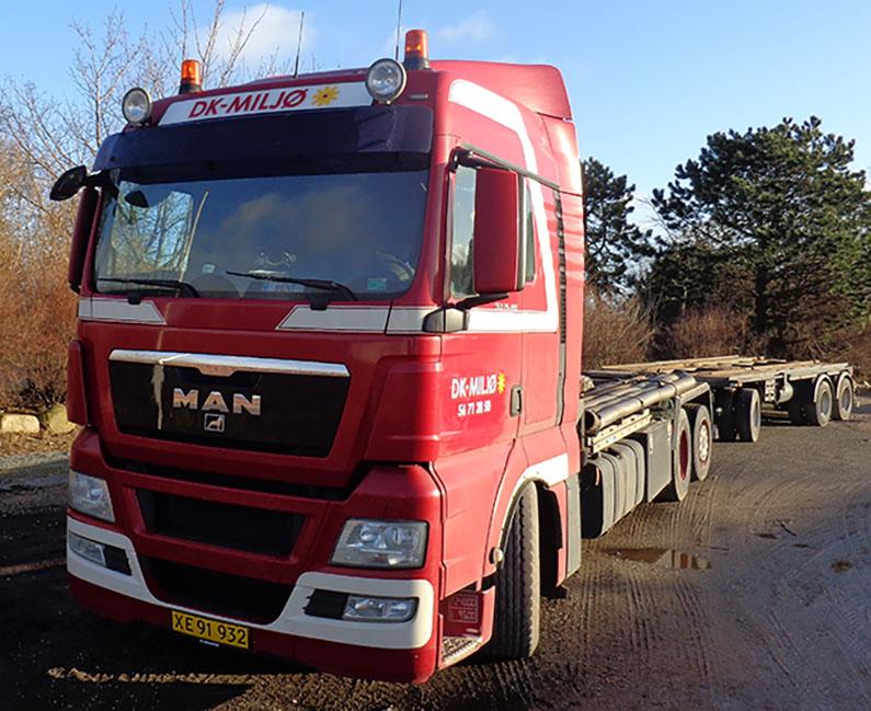 Lastbil - DK Miljø
